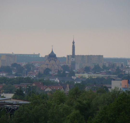 Białystok widok z lasu Pietrasze 2009