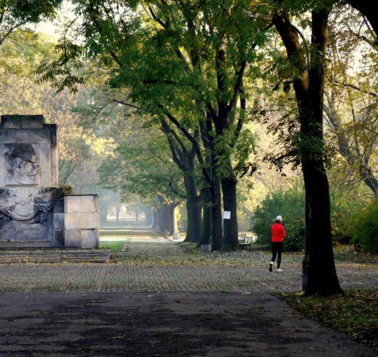 Jesień w Parku Skaryszewskim 2009