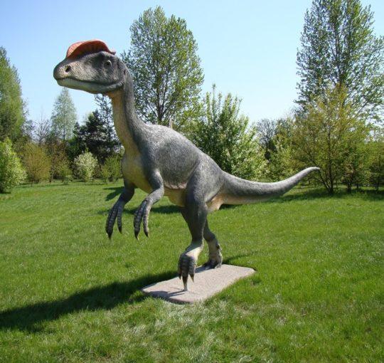 Park Dinozaurów Jurowce koło Białegostoku 2009