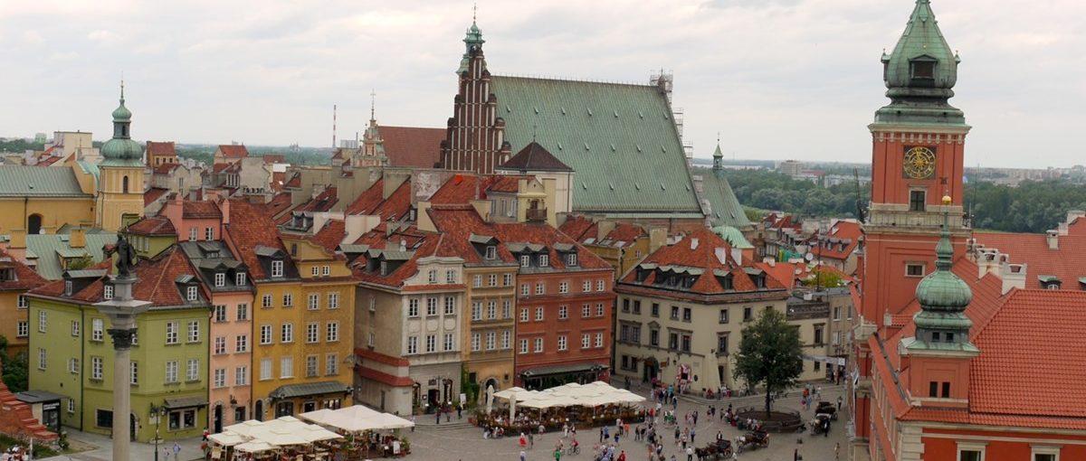 Spacer po Starym i Nowym Mieście, Warszawa 2012