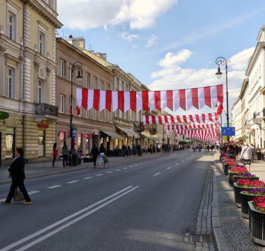 Warszawa Spacer na plac Zamkowy 2015