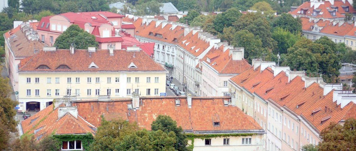 Widoki z dzwonnicy koło św Anny 2009